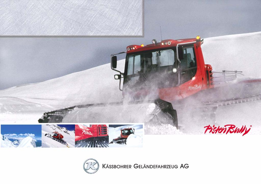 Operating manual PistenBully 300 Kandahar Ab WKU 5 825 MA 5 L