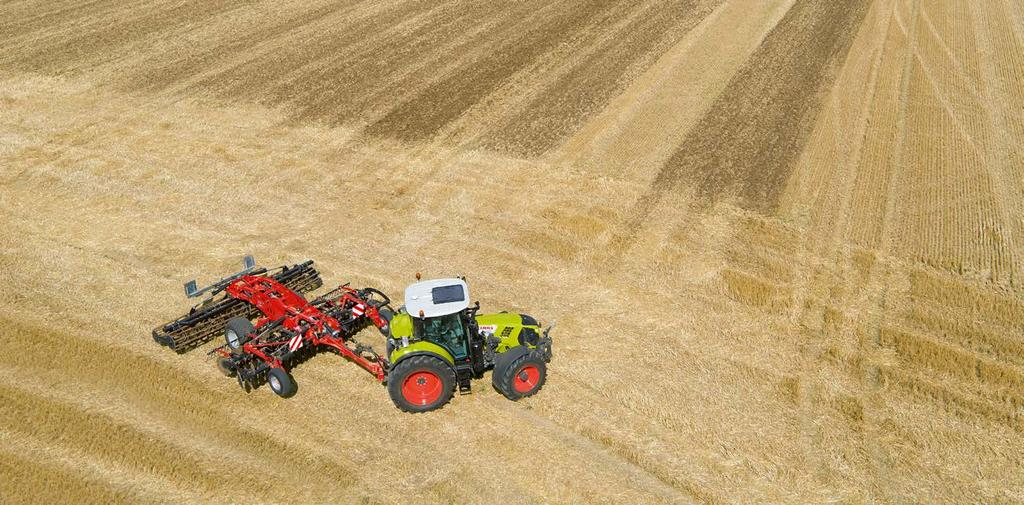 Always on the right track. CLAAS steering systems. Steering systems The correction signals. RTK (± 2-3 cm) Base station Range approx.