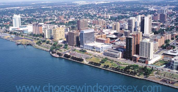 Canada s Best Places To Live & Do Business Small cities : 100,000-500,000 population Windsor, Ontario ranks