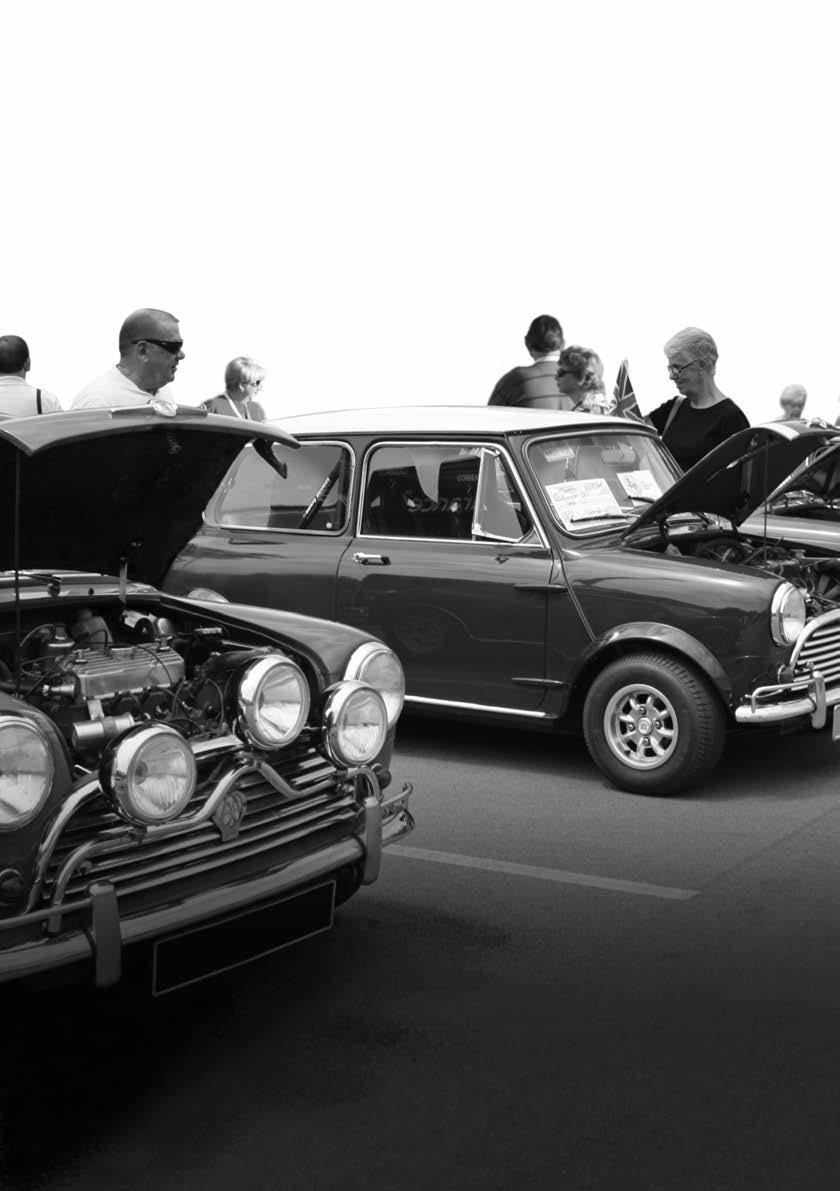CLASSIC MINI. Including over 40 pages. brimming with restoration ...