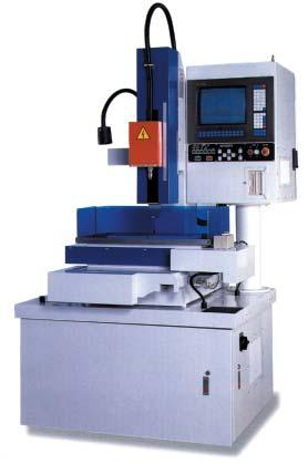 EDM & ACCESSORIES SDNC16P with Tool Changer Shown SDNC60P SDNC16P Machine Only w/ auto tool changer w/ 4th axis Machine can be programmed for circular arrays, rectangles and has a fourth axis for