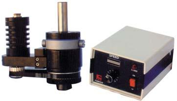 operates 10-260rpm on 110V Current through spindle 10amp max. Spindle Accuracy 0.