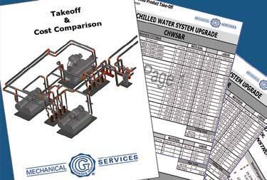 Cost Comparisons - Using industry-standard, man-hour data estimations and our BOMs, we compare the cost savings of grooved piping solutions over traditional welded/flanged joining methods.
