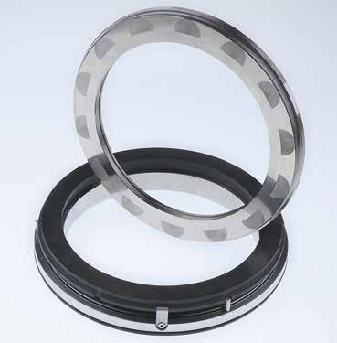 Mechanical seals Compressor seals Gas-lubricated seals MDGS 5 2 1 4 d 1 d 2 3 l EagleBurgmann MDGS are rugged seals for screw compressors.