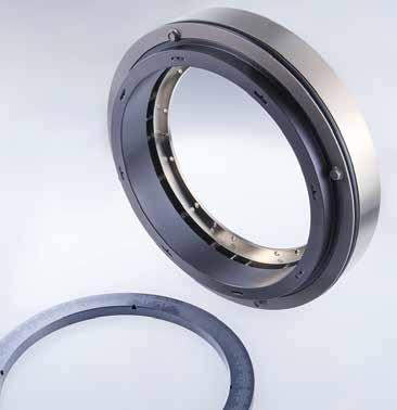 Mechanical seals Compressor seals Gas-lubricated seals NF941 l 1 min l2 min A 13 7 1 3 11 4 15 d 2 min d s d m d max d s d 1 min 12 10 8 2 6 5 9 14 Seals from the NF941 series are used in screw