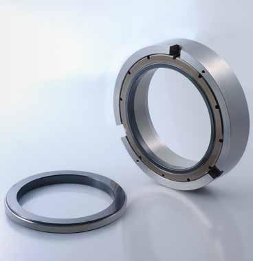 Mechanical seals Compressor seals Oil-lubricated seals WRS B WRS Double seal 3 2 1 2 3 13 6 7 6 The WRS is an oil-lubricated seal that safely seals various types of compressors and organic media.