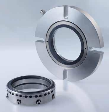 Mechanical seals Agitator seals Dry running seals SeccoMix X d 3 11 3 1 l 3 6 l2 26 5 d 1 h8 d 2 For top entry drives, on request side drive possible Dry-running Single and double seals Balanced