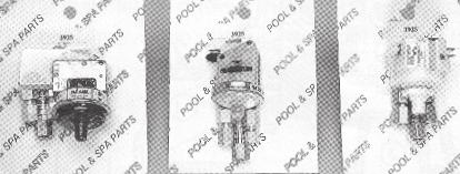R-132B Laars S-19211/73328 Purex B600025 Raypak 600025 Raypak SW-552 UNIVERSAL PRESSURE SWITCH FOR GAS AND ELECTRIC POOL HEATERS THE SW-552 WILL REPLACE THE FOLLOWING: PART# MFG.