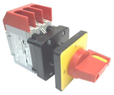 Fast USA Ship Sontheimer LBS RLO25//3PM-D1//Z33//GB 3-Pole 25A Disconnect Switch