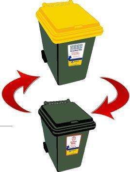 Collection Schedules Recycling and rubbish collections will be on alternate weeks on the same day.