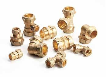FITTINGS With a high resistance to corrosives such as water, heat, saltwater,