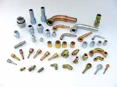 HYDRAULIC FITTINGS Hydraulic fittings and accessories are designed for reliable connections and a